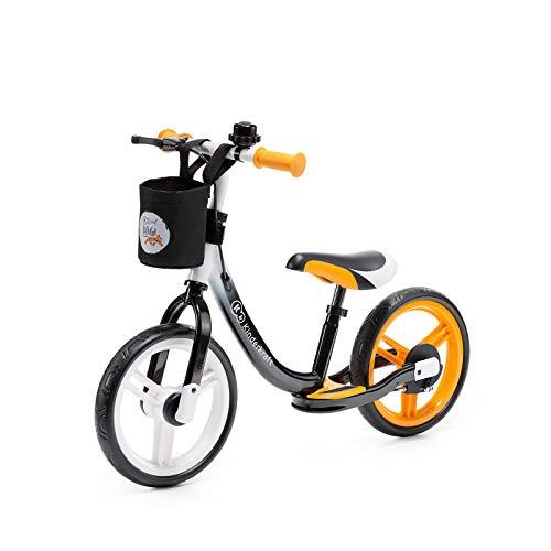 Kinderkraft Bicicletta SPACE, Bici Senza Pedali, in Metallo, Poggiapiedi, Accessori, per Bambini,...