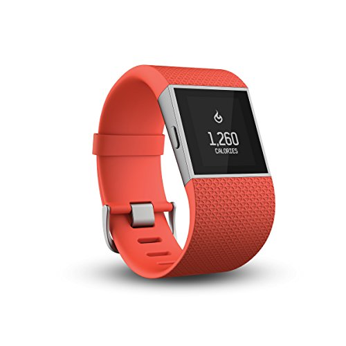 Fitbit Surge Fitness Super Watch - Tangerine, Large