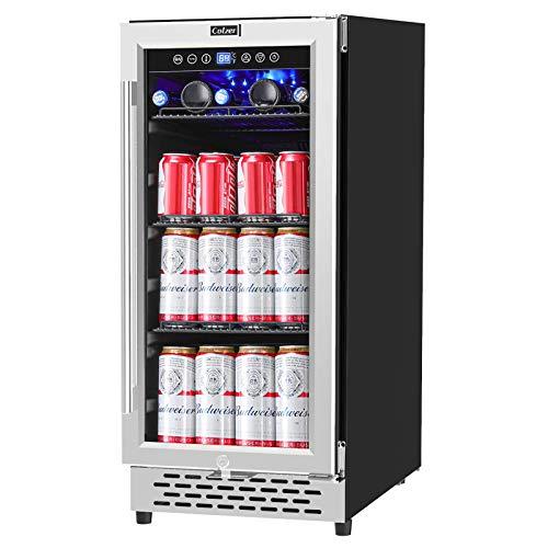 COLZER 15 Inch Beverage Cooler Refrigerator - 126 Cans...