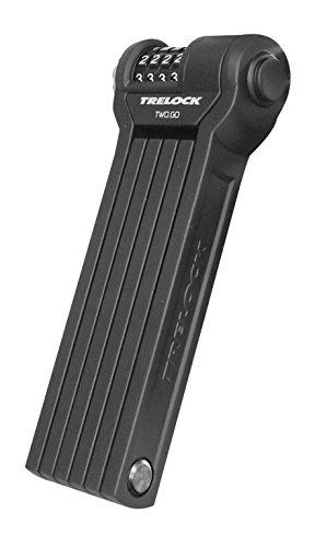 Trelock FS 260 Code Faltschloss, schwarz, One Size