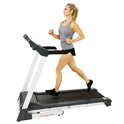 Sunny Health & Fitness SF-T7515 Smart Treadmill with Auto Incline, Sound System, Bluetooth and Phone Function 1