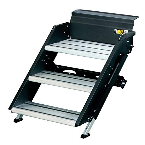 Lippert Components 26' Premium Triple SolidStep with Extra-Wide...