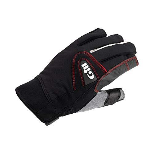2017 Gill Championship Short Finger Sailing Gloves Black 7242 Size - - Small