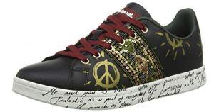 Desigual Shoes Cosmic Exotic Black, Scarpe da Ginnastica Basse Donna