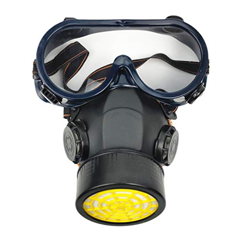 Industrial G'a's Adult Mask R'esp'ira'tor Anti Dust Filtter Goggles Face Mask For Spray Chemical