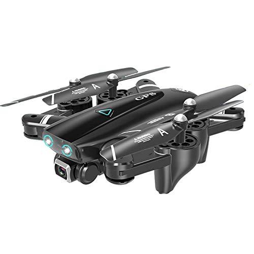 YWXFX Telecamera di Localizzazione GPS Rc UAV 4K HD PRO Selfie Pieghevole Quadricottero Volante da 20 Minuti con WiFi Quadricottero FPV 1080P Quadricottero-con GPS 4K