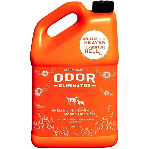 ANGRY ORANGE Pet Odor Eliminator for Strong Odor -...