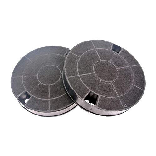 Filtri carbone rotondi, tipo amc912481249038013(confezione da 2) per cappa Whirlpool akr676ix/2