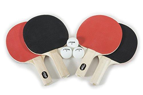 STIGA Recreational-Quality Classic Table Tennis Set for...