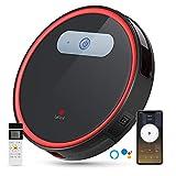Robot Vacuum, Lefant Robotic Vacuum Cleaner Wi-Fi Connected, 2000Pa Power Suction, Works with Alexa and Google, Self-Charging, M501-B Robotic Vacuum for Hardwood Floors, Pet Hair, Medium-Pile Carpets