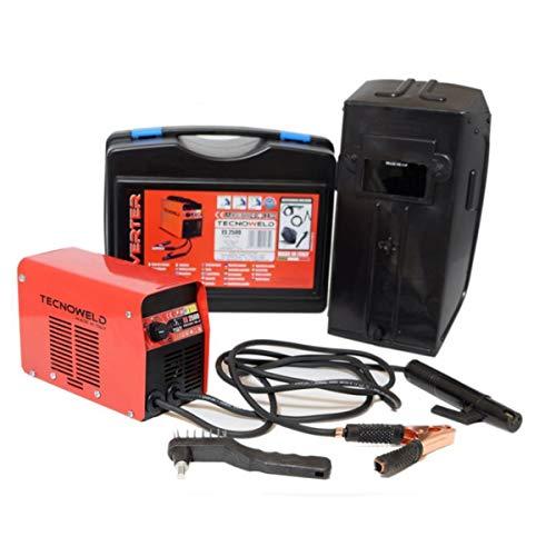 Poste à souder inverter 100 ampères ES2500 TECNOWELD soudure à l?arc MMA pour baguette de soudure 1.6 à 2.5 mm acier inox fonte