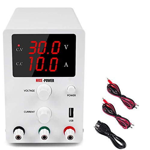 Variable 3 Digital LED Display Adjustable Regulated Switching Power Supply