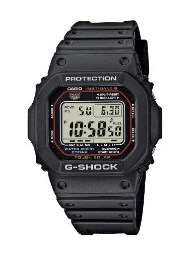 Casio G-Shock Herren-Armbanduhr Funk-Solar-Kollektion Digital Quarz GW-M5610-1ER