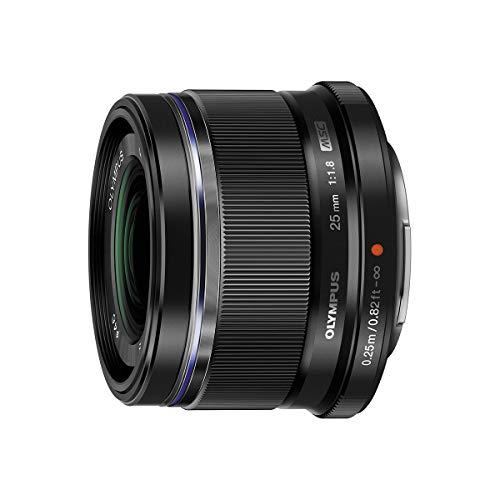 Olympus M.Zuiko Digital 25mm F1.8 Lens, for Micro...