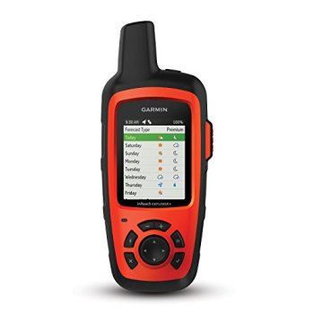 Garmin in Reach Explorer+, Handheld Satellite Communicator with Topo Maps and GPS Navigation