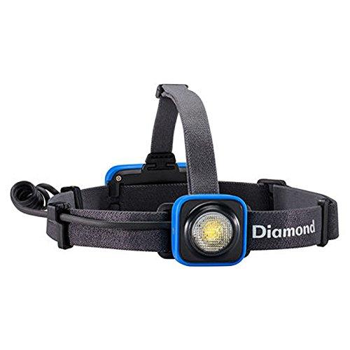 Black Diamond Sprinter Rechargeable Headlamp Smoke Blue / Dimmbare Stirnlampe ideal zum Joggen, Fahrradfahren und Wandern / Wiederaufladbar per USB, max. 200 Lumen