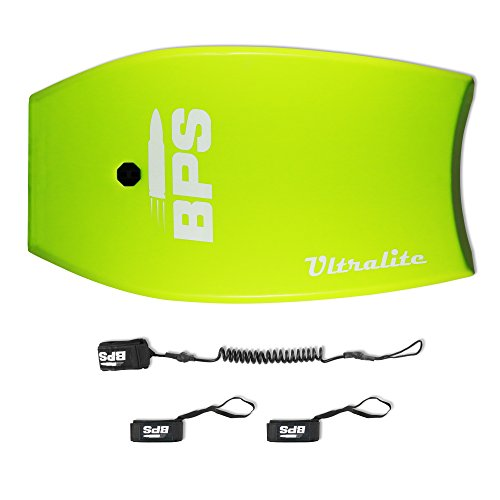 Bodyboard - Full BEACH PACK by BPS - 33 inch ULTRALITE Bodyboard GREEN