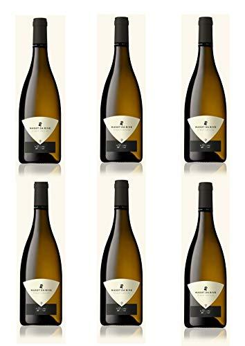 Vino Bianco del Friuli - 6 x 0,750 l. Pinot Grigio Isonzo - Masut Da Rive