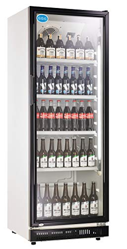 Gastro, Frigorifero per bottiglie con porta di vetro e una capacità 360 litri