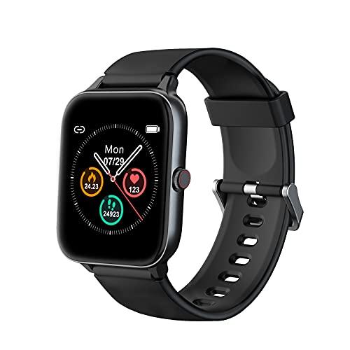 IOWODO Smartwatch, Reloj Inteligente Hombre Mujer con 1.5'...