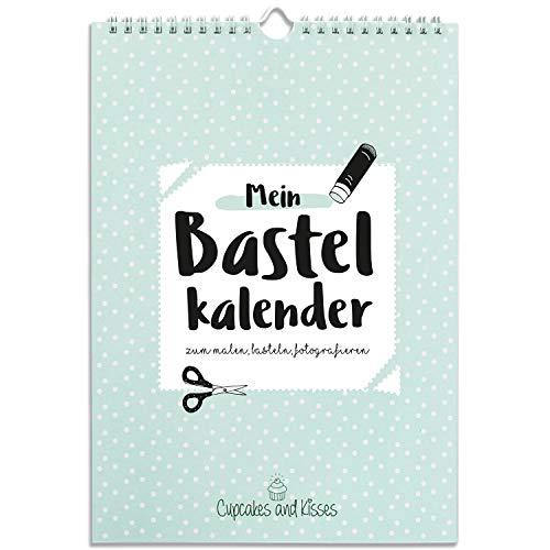 CUPCAKES & KISSES® Kalender zum Selbstgestalten ohne Jahr I A4 Bastelkalender, Fotokalender,...