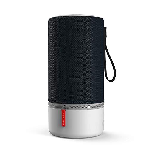 Libratone Zipp 2 - Enceinte Sans Fil Bluetooth (Intégration Alexa, Son 360°, WiFi, AirPlay 2, 10h d'autonomie) - Stormy Black