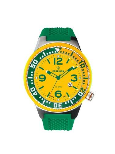 Kienzle Unisex-Armbanduhr POSEIDON S Analog Quarz Silikon K2103019013-00412