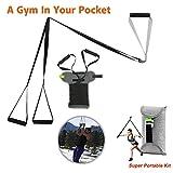 Wecofen Kit d'entraînement de Suspension, kit d'entraînement de Remise en Forme Ajustez Le système d'exercice de Suspension Professionnel pour Les gymnases...