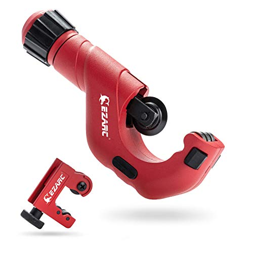 EZARC 2-Piece Tubing Cutter Set with 3/16 to...