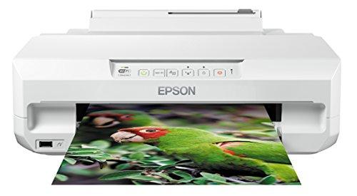 Epson Expression Photo XP-55 Stampante Wi-Fi a 6 Colori, Stampa su CD/DVD, Dotata di Epson Connect, Stampa Foto e Formati A4, Possibilit di Stampa Fronte e Retro, fino a 32 ppm