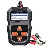 KONNWEI KW208 12V Car Battery Tester, 100-2000 CCA Load Tester Automotive Alternator Tester Digital...