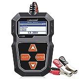 KONNWEI KW208 12V Car Battery Tester, 100-2000 CCA Load Tester Automotive Alternator Tester Digital Auto Battery Analyzer Charging Cranking System Tester for Car Truck Marine Motorcycle SUV Boat
