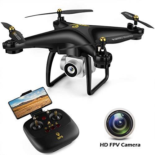 JJRC JJPRO GPS Drone, H68G RC Drone con videocamera HD 720P Video live 5G WiFi FPV Quadcopter con...