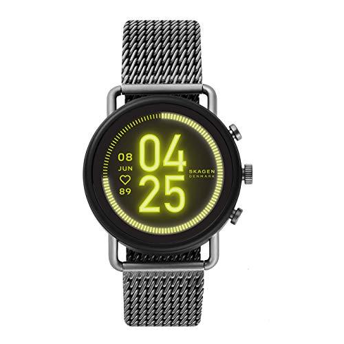 Skagen Smartwatch Pantalla táctil para Hombre de Connected con Correa en Acero Inoxidable SKT5200