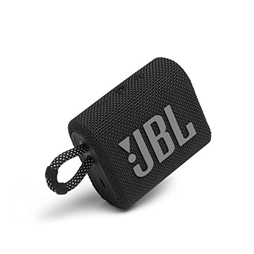 JBL Go 3, Wireless Ultra Portable Bluetooth Speaker, JBL Pro Sound, Vibrant Colors with Rugged...