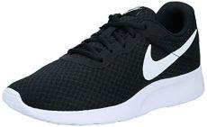Nike Wmns Tanjun, Scarpe da Corsa Donna, Nero (Black/White), 39 EU