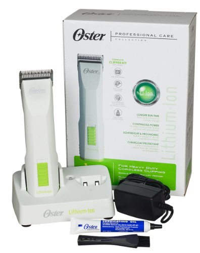 Oster Volt Cordless Pet Clippers with Detachable...