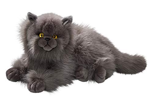 Carl Dick Peluche - Gato Persa Gris (Felpa, 30cm) Juguete 34