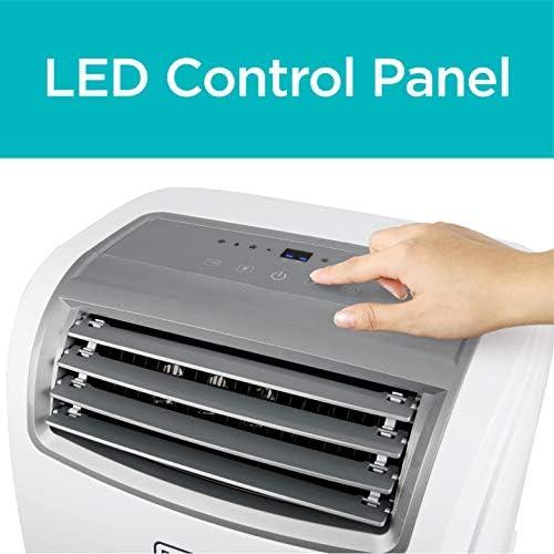 BLACK+DECKER BPACT14WT Portable Air Conditioner with Remote Control, 7,700 BTU DOE (14,000 BTU ASHRAE), Cools Up to 350 Square Feet, White 13