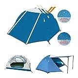 Zenph 4 Saison Camping Tente, 2 Personnes Imperméable...