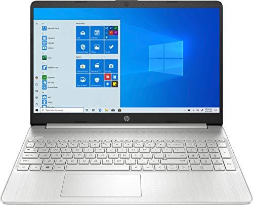 2020 HP 15.6' Touchscreen Laptop Computer/ 10th Gen Intel Quard-Core i5 1035G1 up to 3.6GHz/ 12GB DDR4 RAM/ 256GB PCIe SSD/ 802.11ac WiFi/ Bluetooth 4.2/ USB 3.1 Type-C/ HDMI/ Silver/ Windows 10 Home