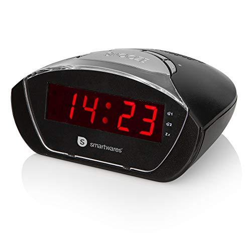 Radio-réveil Smartwares CL-1458 – Compact – Fonction Snooze