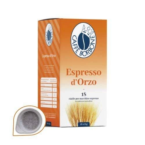 Caffè Borbone - Cialde Miscela Orzo - Confezione da 54 Pezzi - Filtro in Carta da 44mm
