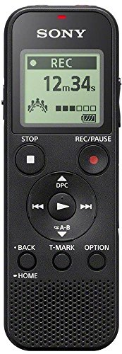 Sony ICD-PX370 Registratore Digitale Mono, Optimized Voice Rec, Altoparlante Integrato, Jack Cuffie...