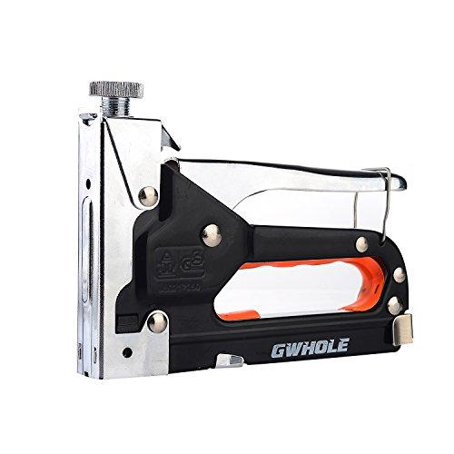 Gwhole Graffatrice con 600 punti per il fissaggio al imbottiture, legno, tessuti, fogli