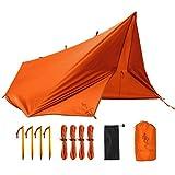 FREE SOLDIER Camping Tarp 3m x 3.2m Housse de Pluie...
