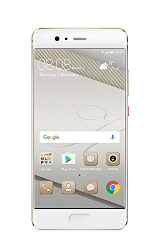 Huawei 5.1型 P10 SIMフリースマートフォン プレステージゴールド 【日本正規代理店品】 P10/VTR-L29/Prestige Gold