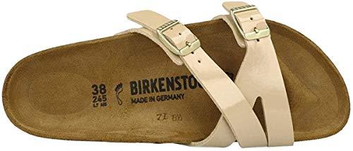 Birkenstock ユニセックス ヤオ バランス ビルコ フロア 特許サンダル US サイズ: 8-8.5 Women/6-6.5 Men ...