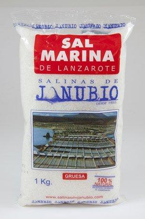 Grobes Meersalz aus den Salinas de Janubio, Lanzarote - 4 x 1000 g Gruesa