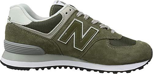 New Balance Herren 574v2-Core Sneaker, Grün (Olive), 45.5 EU